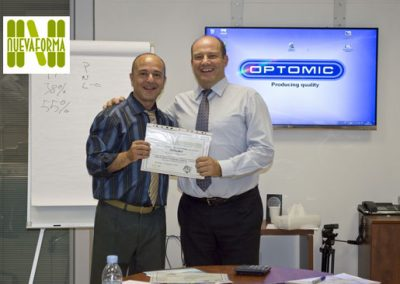 Curso de ventas Optomic Claudio